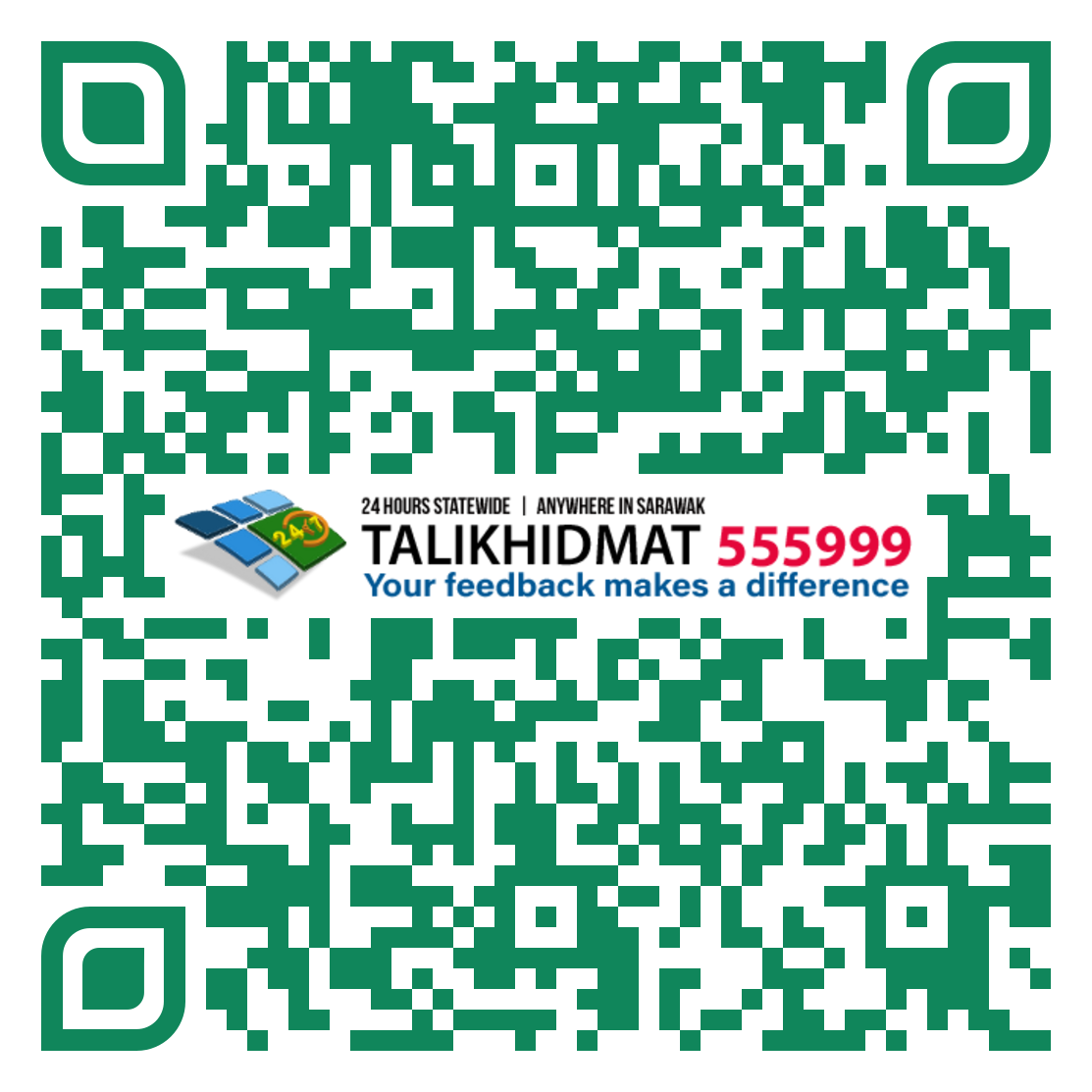 Image QR Code for Talikhidmat iOS Application